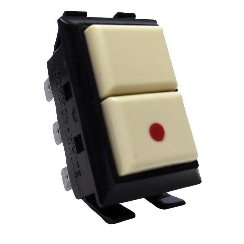 small resolution of ge industrial rs232p 1 pole low voltage momentary switch with pilot light 24 volt