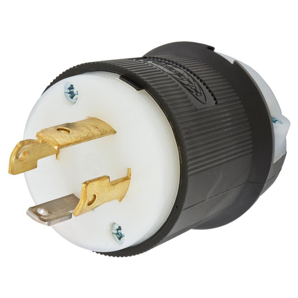 medium resolution of hubbell wiring l630p 3 wire 2 pole polarized locking plug 250 volt