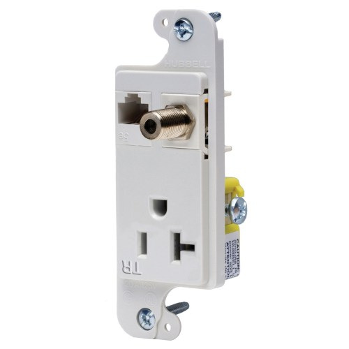 small resolution of hubbell wiring rj620wtr tamper resistant multimedia outlet white tradeselect reg