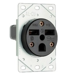 pass seymour 3804 straight blade power outlet receptacle 50 amp 250 volt ac [ 1500 x 1500 Pixel ]