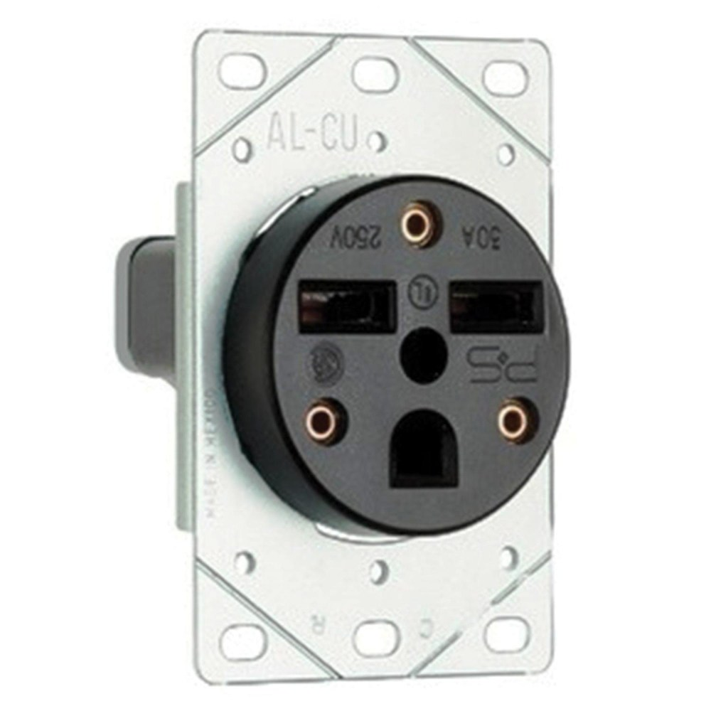 medium resolution of pass seymour 3804 straight blade power outlet receptacle 50 amp 250 volt ac