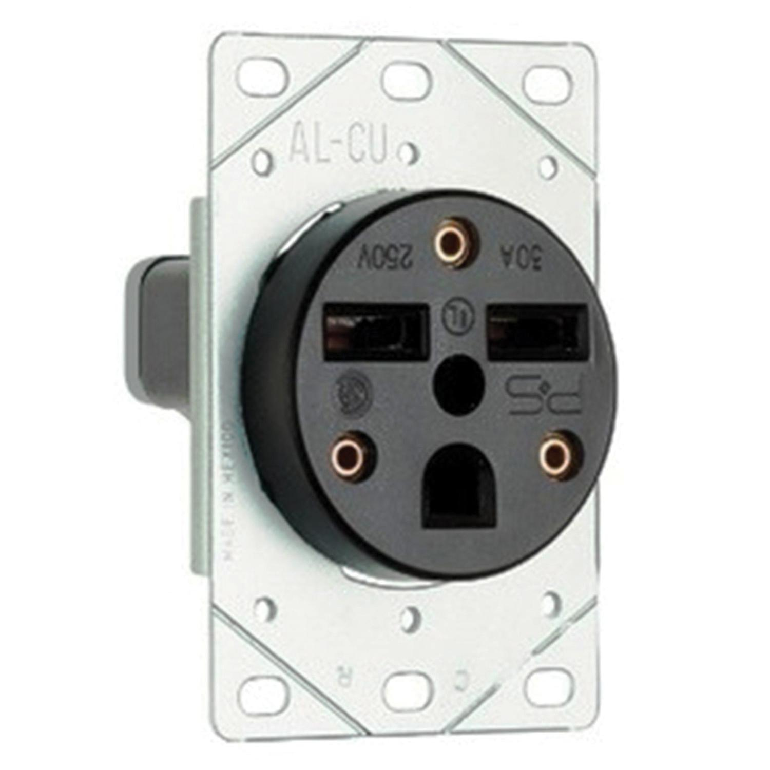 hight resolution of pass seymour 3804 straight blade power outlet receptacle 50 amp 250 volt ac