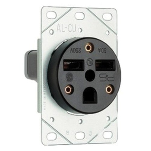 small resolution of pass seymour 3804 straight blade power outlet receptacle 50 amp 250 volt ac