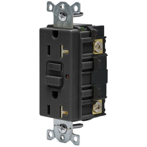 small resolution of hubbell wiring gftr20bk heavy duty tamper and weather resistant led gfci receptacle 125