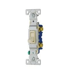 cooper wiring device 1301 7la 1 pole 120 volt ac 15 amp [ 1000 x 1000 Pixel ]