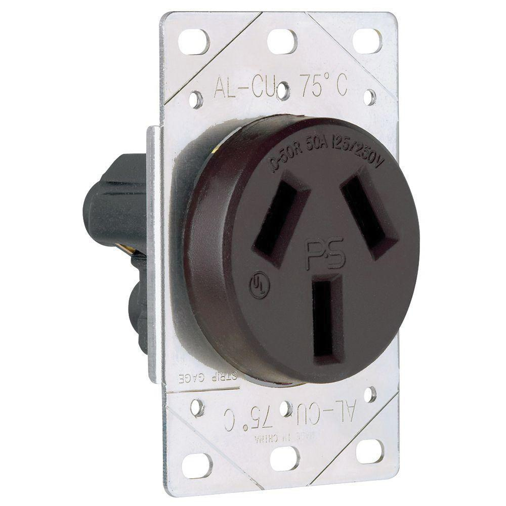 medium resolution of pass seymour 3894 straight blade power outlet receptacle 50 amp 250 volt 50 amp ac wiring