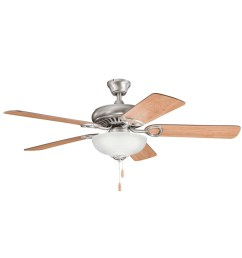 kichler 339211ap sutter place select ceiling fan with light 52 inch 5 blade antique pewter [ 1500 x 1500 Pixel ]