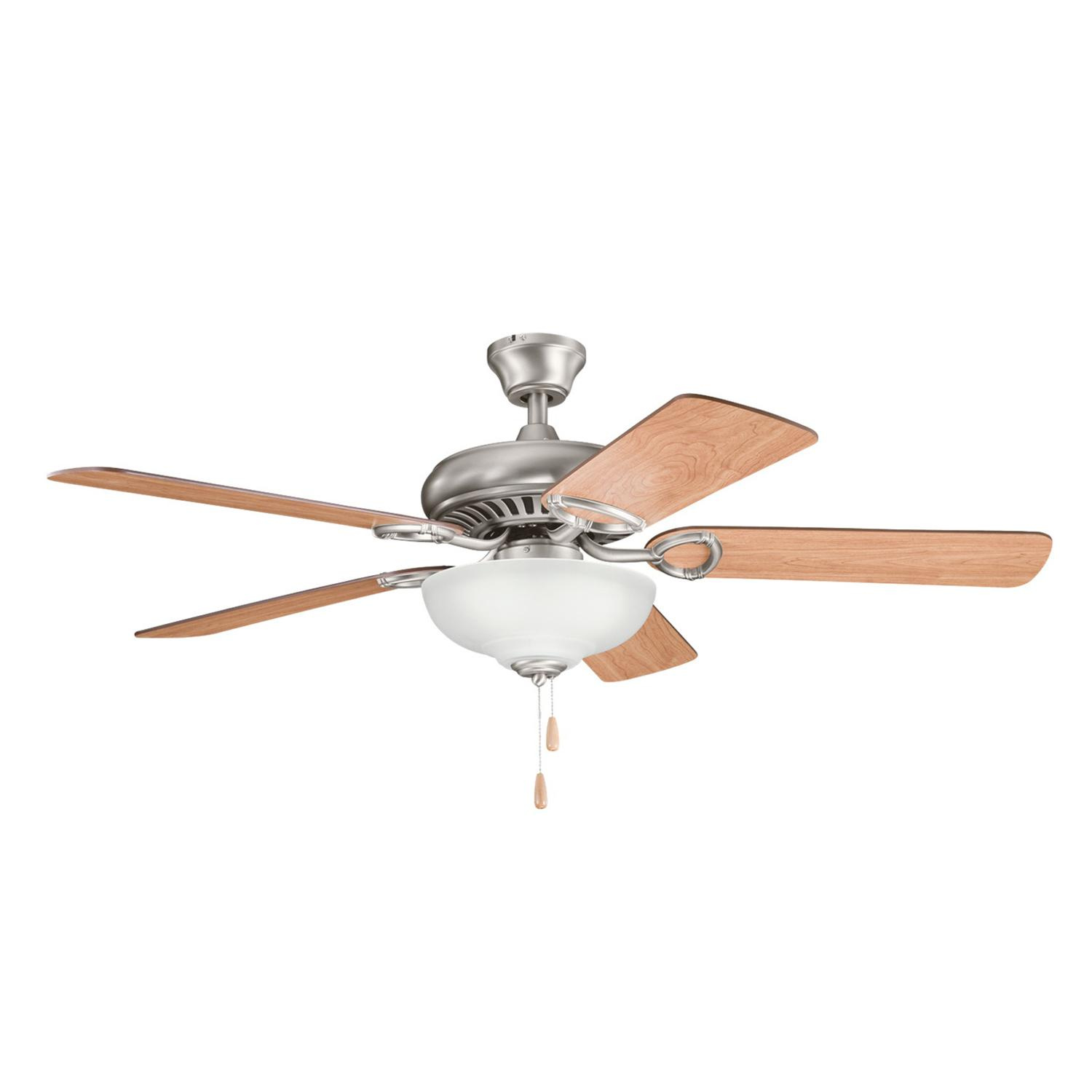 hight resolution of kichler 339211ap sutter place select ceiling fan with light 52 inch 5 blade antique pewter