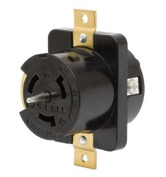 hubbell wiring cs8169 screw mount non nema single receptacle 50 amp hubbell wiring cs8169 screw mount [ 1000 x 1000 Pixel ]