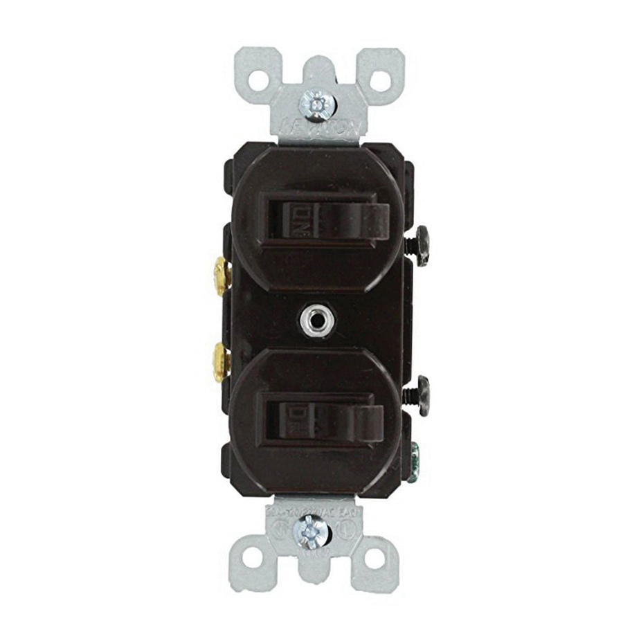medium resolution of leviton 5334 1 pole 120 277 volt ac commercial grade duplex combination ac