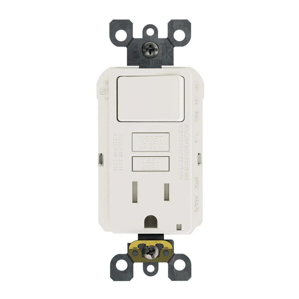 Shop Cooper Wiring Devices 15amp White Combination Light Switch At