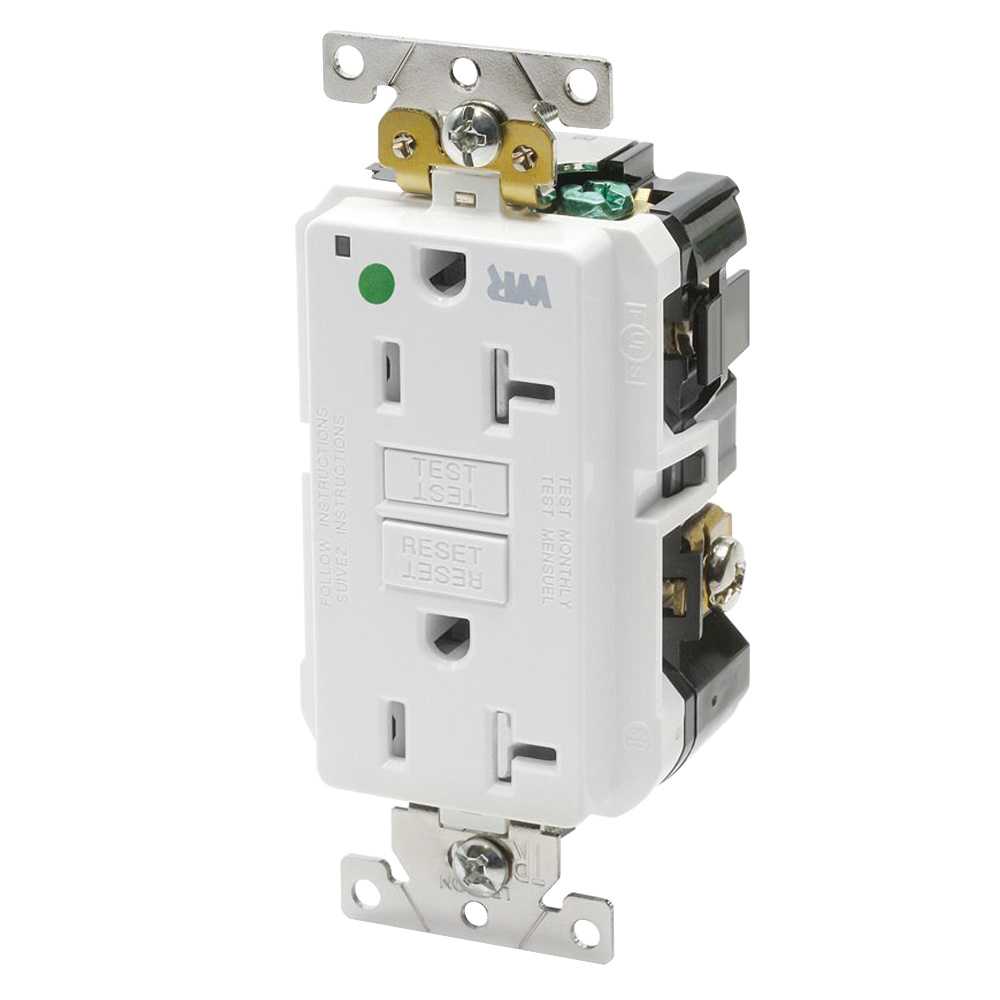 hight resolution of leviton gfwt2 hgw hospital grade extra heavy duty tamper and weather resistant gfci