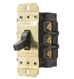 hubbell wiring hbl7853d 3 pole 3 phase toggle manual motor disconnect switch 600 [ 1200 x 1200 Pixel ]