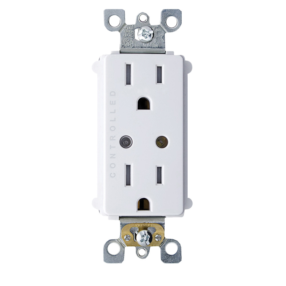 hight resolution of leviton wsg15 d9w wireless controlled duplex receptacle 15 amp 120 volt ac white