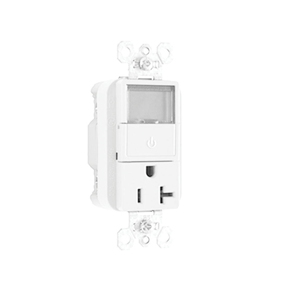medium resolution of pass seymour plt26351 w 3 wire 2 pole heavy duty straight blade plug load timer receptacle 125 volt 20 amp nema 5 20r white receptacle switch