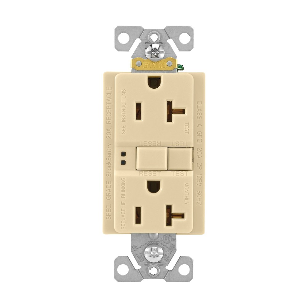 medium resolution of cooper wiring device sgf20v specification grade self test gfci duplex receptacle 20 amp 125