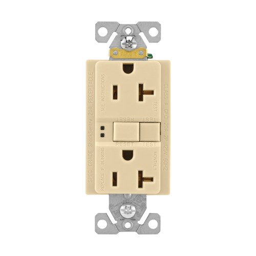 small resolution of cooper wiring device sgf20v specification grade self test gfci duplex receptacle 20 amp 125