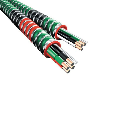 small resolution of afc cable systems 1504g60 00 copper interlocked galvanized steel health care facilities cable 12 2 1000 ft reel black white green ground hcf 90