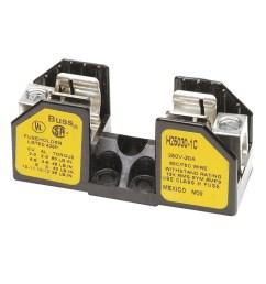 bussmann h25030 1c fuse block 1 pole 1 10 30 amp [ 1000 x 1000 Pixel ]
