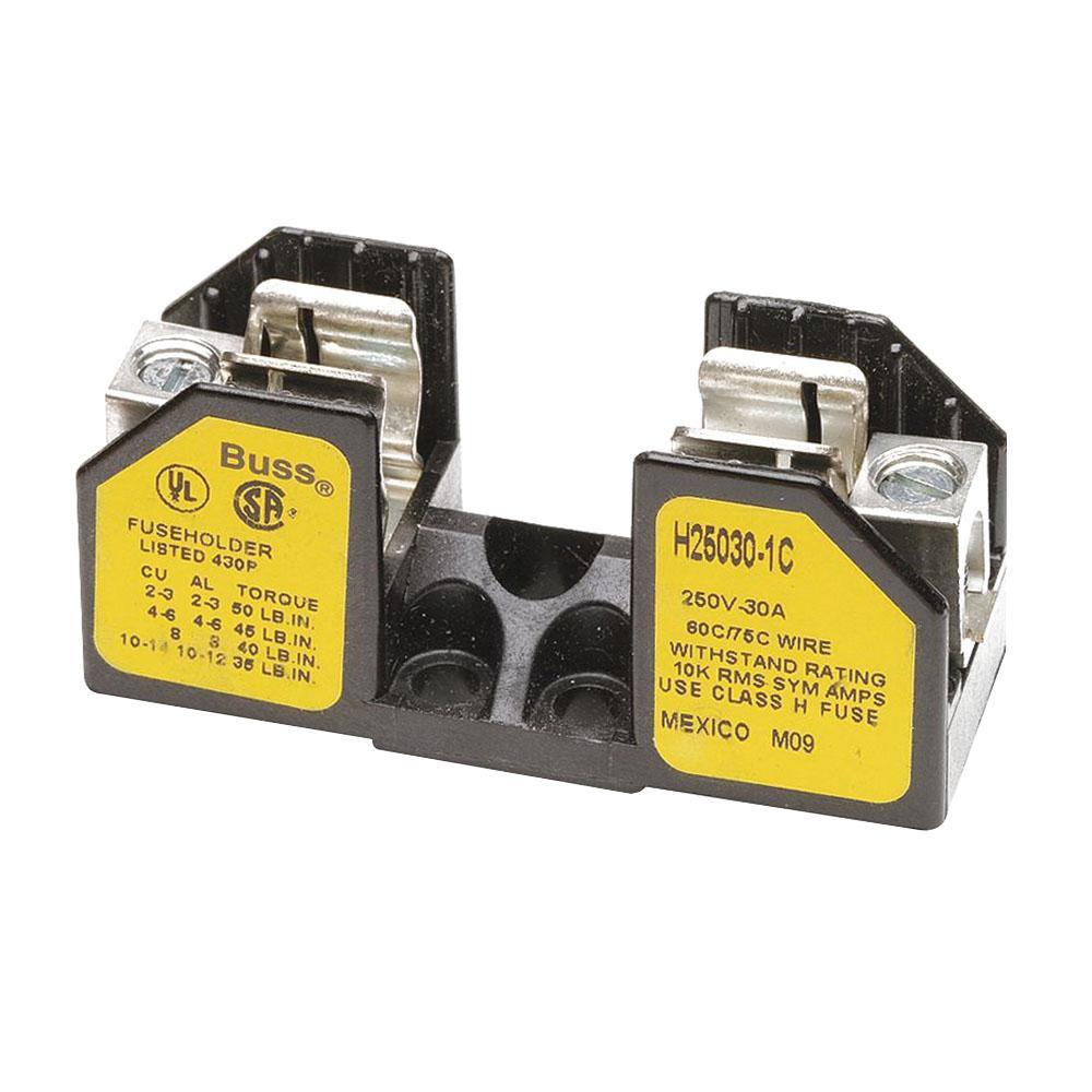 hight resolution of bussmann h25030 1c fuse block 1 pole 1 10 30 amp