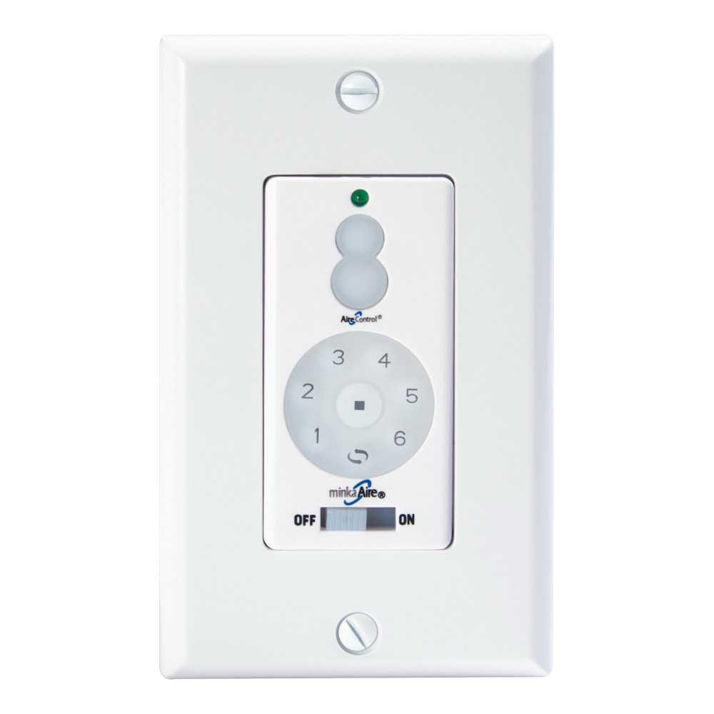 medium resolution of minka aire wc600 dc wall fan control white 2 75 inch x 4 75 inch