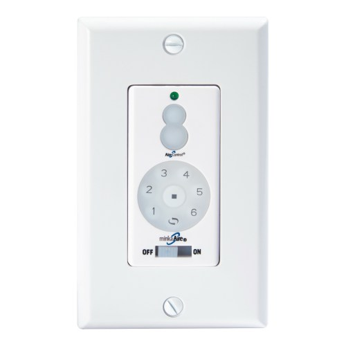 small resolution of minka aire wc600 dc wall fan control white 2 75 inch x 4 75 inch