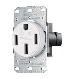 hubbell wiring rr450fw smooth face straight blade single receptacle 14 50r 50 ampere receptacle illustration of nema 14 wiring [ 1200 x 1200 Pixel ]
