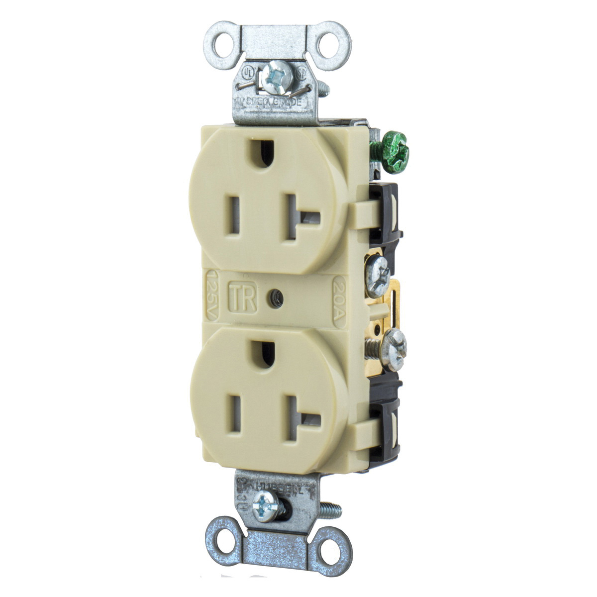 hight resolution of hubbell wiring br20itr 3 wire 2 pole tamper resistant straight blade duplex