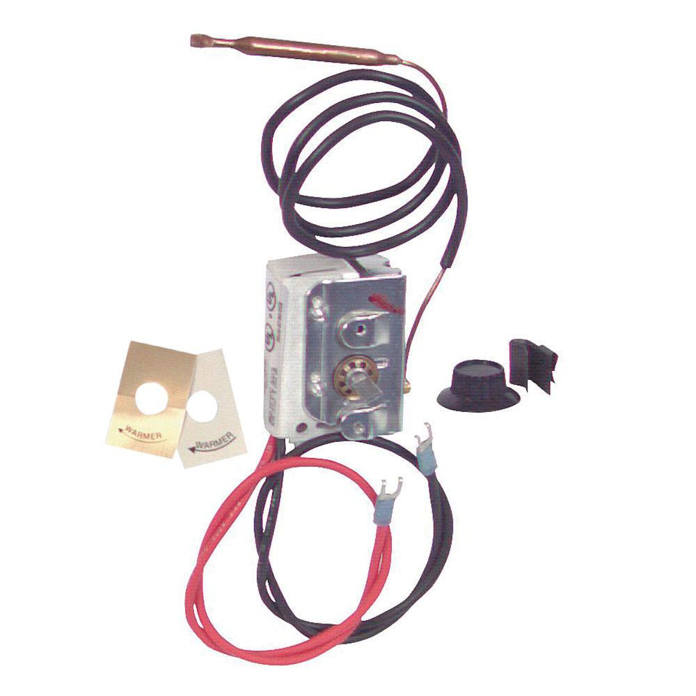 hight resolution of q mark uhmt1 1 pole internal thermostat kit 120 240 277
