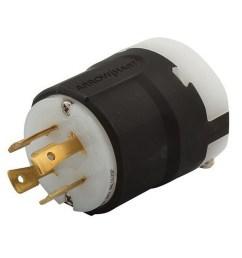 cooper wiring device ahl1630p 4 wire 3 pole ultra grip industrial grade locking plug [ 900 x 900 Pixel ]