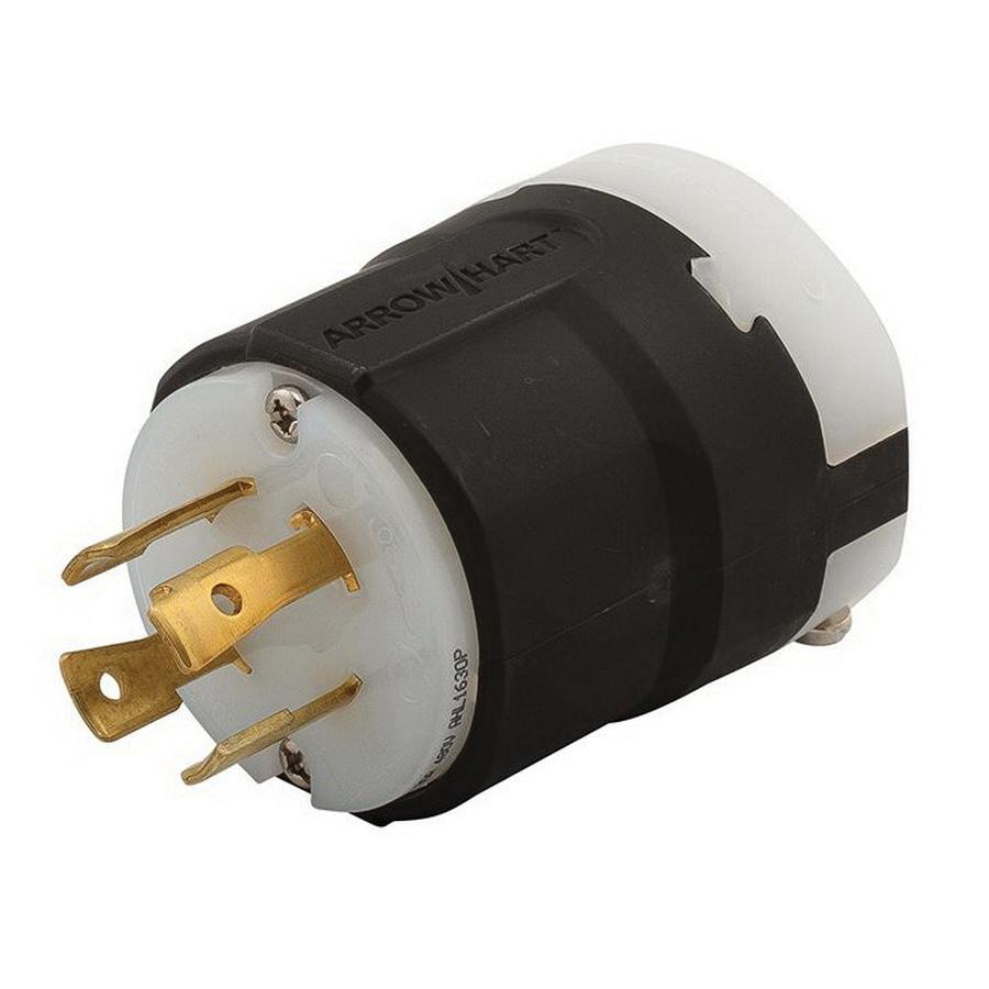 medium resolution of cooper wiring device ahl1630p 4 wire 3 pole ultra grip industrial grade locking plug