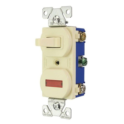 small resolution of cooper wiring device 294v box 120 volt ac 15 amp 3 way commercial wiring devices 15amp ivory combination special use light switch