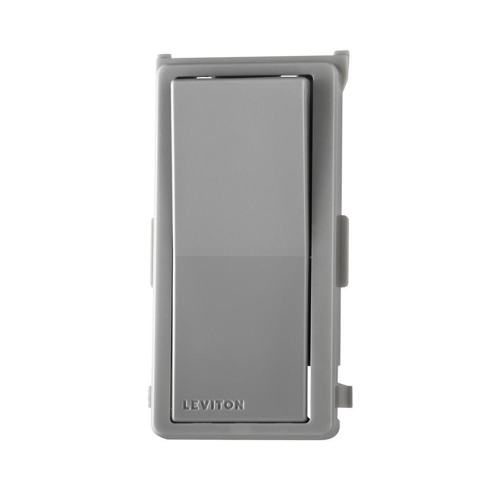 medium resolution of leviton ddkit sg color change kit gray for decora digital decora smart dimmers and