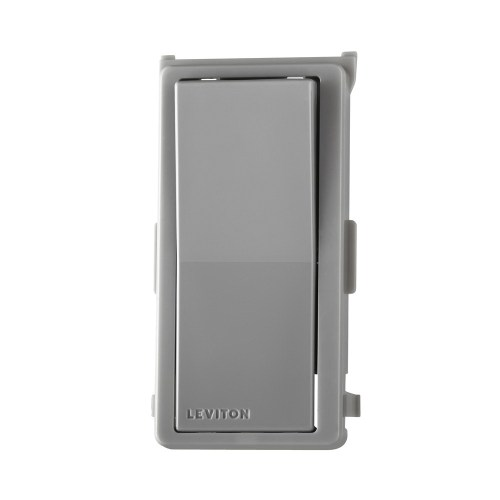 small resolution of leviton ddkit sg color change kit gray for decora digital decora smart dimmers and