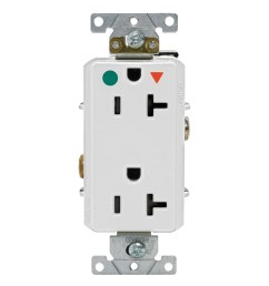 leviton d8300 igw 3 wire 2 pole heavy duty smooth face receptacle [ 1000 x 1000 Pixel ]