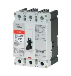 eaton fd3100 panel mount type fd molded case circuit breaker 3 pole 100 amp [ 1000 x 1000 Pixel ]