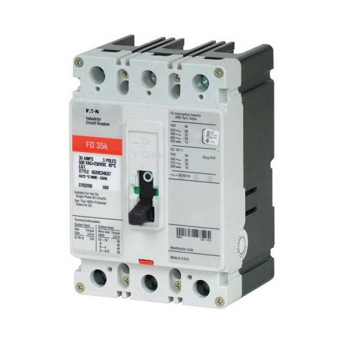 small resolution of eaton fd3100 panel mount type fd molded case circuit breaker 3 pole 100 amp