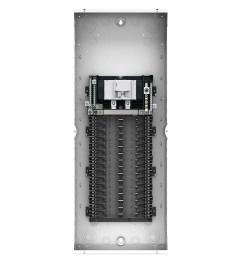 leviton lp310 mb 1 phase 3 wire main breaker load center 30  [ 1000 x 1000 Pixel ]