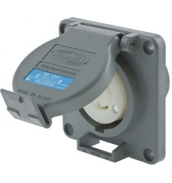 hubbell wiring hbl2320sw industrial grade single twist lock receptacle 250 volt ac at [ 1000 x 1000 Pixel ]