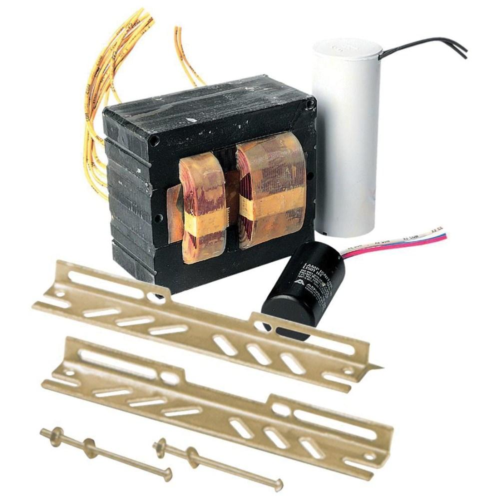 medium resolution of universal lighting technologies p400ml5ac4m500k 1 400 watt mogul metal halide lamp core and
