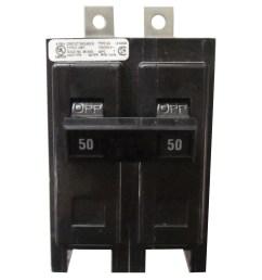 eaton bab2050h bolt on mount type bab industrial miniature circuit breaker 2 pole 50 [ 1600 x 1600 Pixel ]