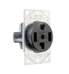 pass seymour 3864 straight blade power outlet receptacle 30 amp 125 250  [ 900 x 900 Pixel ]