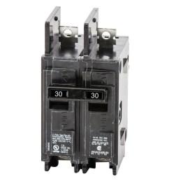 siemens bq2b030 bolt on mount type bq molded case circuit breaker 2 pole 30 amp 120 240 volt ac molded case circuit breakers breakers and fuses power  [ 2000 x 2000 Pixel ]