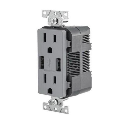 small resolution of leviton t5632 gy residential grade tamper resistant combination decorator straight blade duplex receptacle
