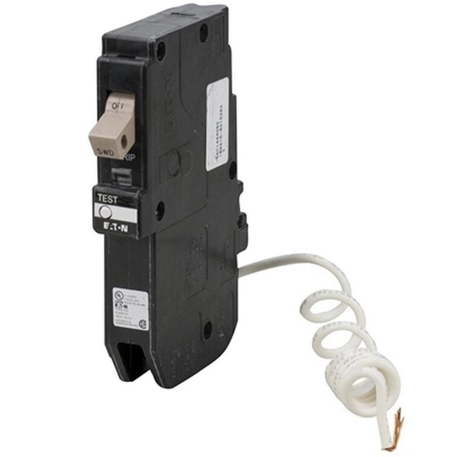medium resolution of eaton chfgft120 plug in mount type ch ground fault circuit breaker 1 pole 20 amp 120 volt ac arc fault ground fault breakers breakers and fuses power