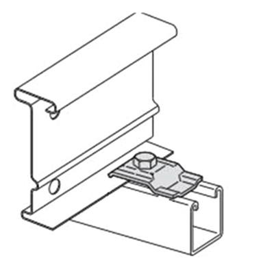 B-Line 9ZN-1204NB Cable Tray Clamp/Guide With Hardware