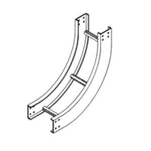 B-Line 4A-12-90-VI12 90-Degree Vertical Inside Bend For