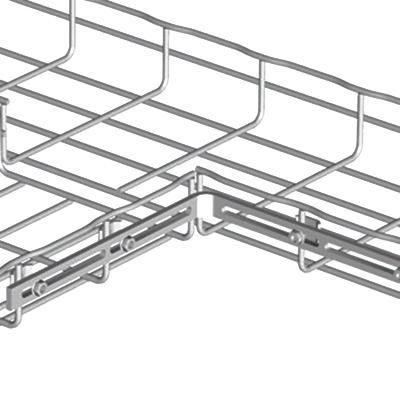 Cablofil EZT90EZ Zinc Electroplated Carbon Steel 90 Degree