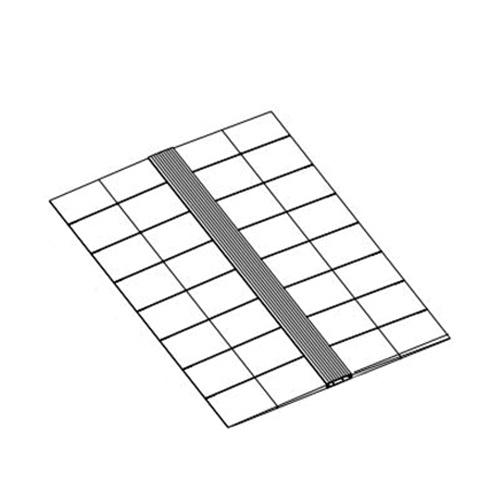 Connectrac IN-048-AL Wireway Segment 48-Inch Clear