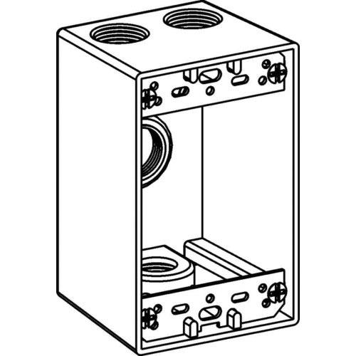 Orbit Industries 1db50 4 Powder Coated Cast Aluminum 1